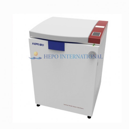 High End Laboratory Auto Pulse Vacuum Vertical Steam Autoclave